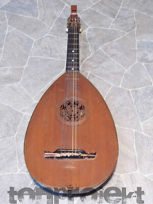 PROJECT old historic 6string GUITARLUTE guitar bowlback guitar lute Germany 1920