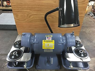 "Baldor 6"" Carbide & Tool Grinder 1/2 HP Without Wheels #500"
