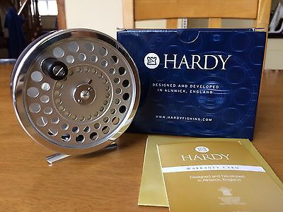 Hardy Marquis Fly Reel (Number 1 Salmon) & 100 Yards of 30 Pound Backing