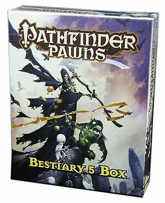 Paizo, Pathfinder Roleplaying Game, Pawns Bestiary 5 Box, New