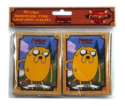 Cryptozoic Card Wars Adventure time Deck Protector, Jake (80 ct), New and Sealed