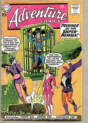 Adventure Comics #267-1959 vg 2nd app Legion Of Super-Heroes Superboy