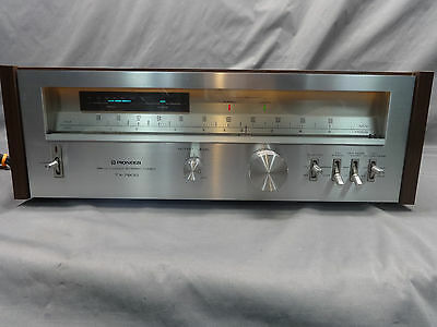 Vintage PIONEER TX-7800 AM/FM Servo Locked STEREO TUNER w/Operating Instructions
