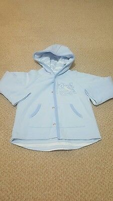 Baby boys jacket 6-9 months reversible from George