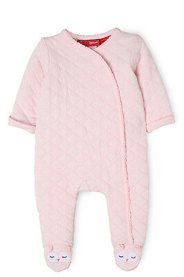 NEW Sprout Quilted Coverall Lt Pink