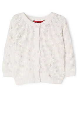 NEW Sprout Waffle Cardi Cream