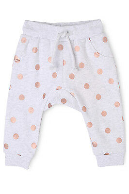 NEW Sprout Girls Trackpant Grey Marle