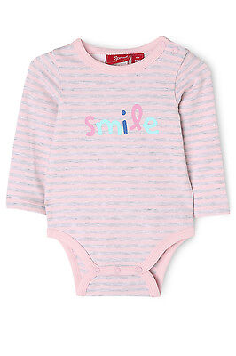 NEW Sprout Mix & Match Long Sleeve Bodysuit Pink