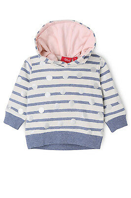 NEW Sprout Girls Hoodie Blue Marle