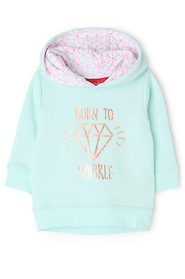 NEW Sprout Girls Hoodie Mint