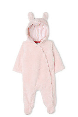 NEW Sprout Fluffy Coverall Pink