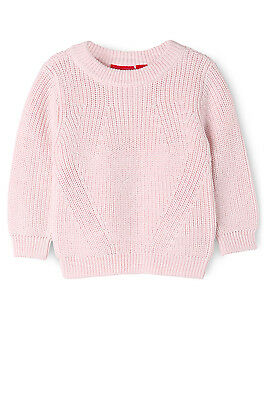 NEW Sprout Cable Knit Jumper Pink