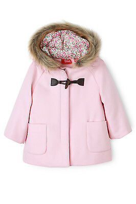NEW Sprout Duffle Coat Lt Pink