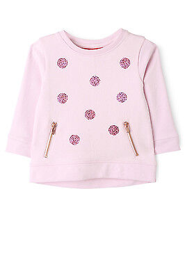 NEW Sprout Sequin Sweat Top Mauve
