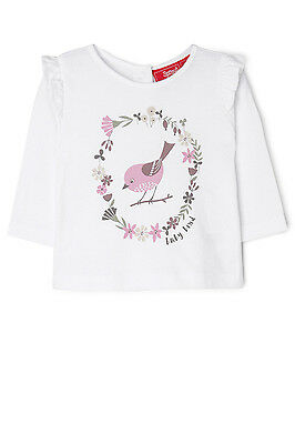 NEW Sprout Ruffle Tee White