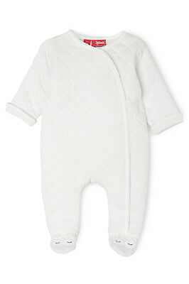 NEW Sprout Quilted Padded Coverall Vanilla