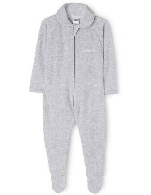 NEW Bonds Zip coverall Grey Marle