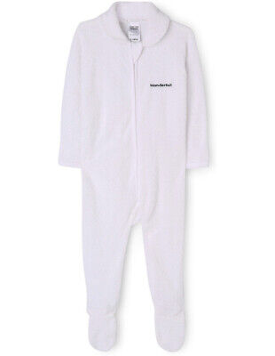 NEW Bonds Zip coverall White