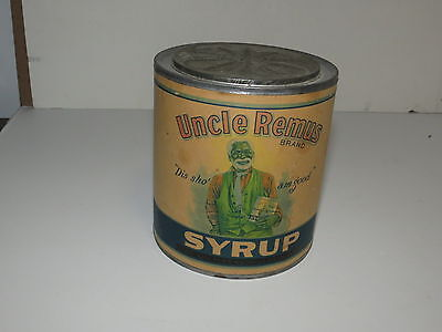 * Vintage Uncle Remus Syrup Advertising Tin *