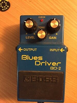 Boss Blues Driver BD2 Guitar  Electric Effect Pedal