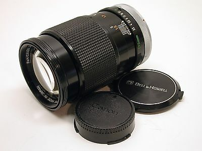 Canon Bell Howell 135Mm F2.5 Fd Mount Manual Focus Telephoto Lens..caps..exc++