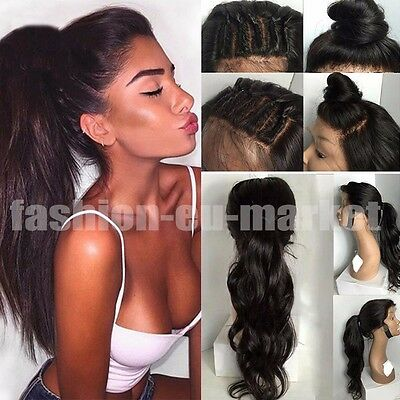 Qualite 9A Glueless Full Lace Hair Hair Perruques Pre Plucked Hairline Hair Wigs