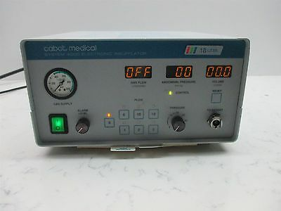 Circon Cabot Medical System 4000 Electronic Insufflator 18 Liter Endoscopy Unit