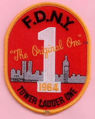 New York City Fire Dept Ladder 1 Patch  The Original One