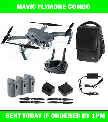 Dji Mavic Fly More Combo. Brand New Australian Units - Sent Today If Paid By 1Pm