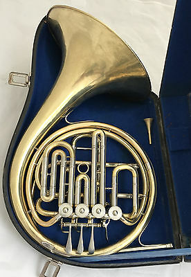 Ed. Kruspe Erfurt Compensating Double French Horn - Model Gumbert-Kruspe