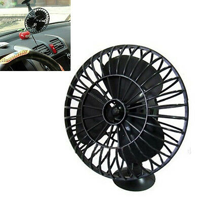 Portable 12V Mini Car Truck Boat Vehicle Cooling Cool Air Fan Cigarette Lighter