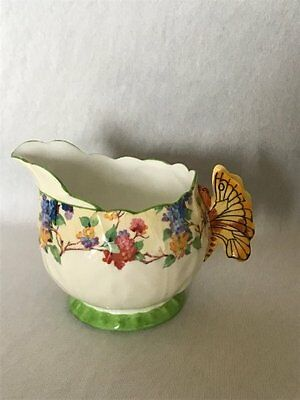 **RARE** Aynsley Floral 'Butterfly' Milk Jug (Pattern No. B1322)