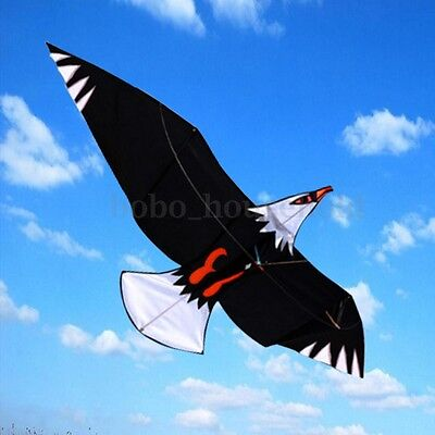 3D Eagle Bird Kite Single Line Sport Outdoor Wing Flying kids Toy Easy to Fly