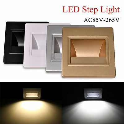 1/10/20x 3W LED Recessed Downlight Stage Stair lighting wall floor deck light