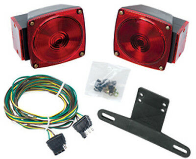 Wesbar Submersible Under 80 Trailer Light Kit Part # 2527511 15-9663 444050
