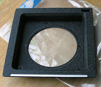 genuine Toyo   field camera 110mm square 12mm  recessed  lens board 65mm hole