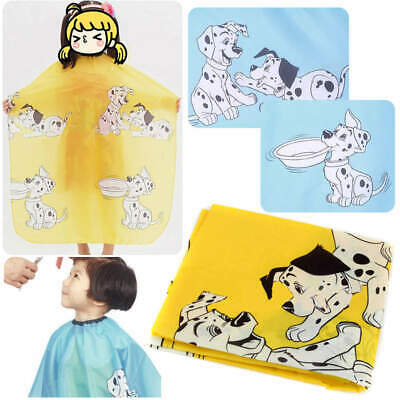 Childs Kids Dog Dressing Cape Salon Gown Cover Barber Hair Cut Cloth Hairdresser