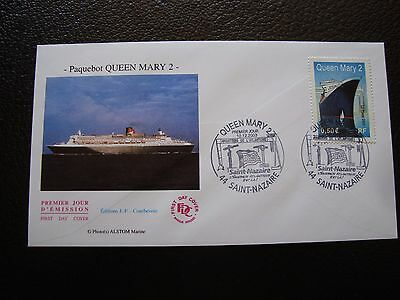 FRANCE - enveloppe 1er jour 12/12/2003 (paquebot queen mary 2) (B1) french
