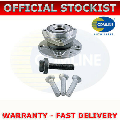 Front Comline Wheel Bearing Kit + Hub Assembly For Audi A3 (2003-12) Choice 2