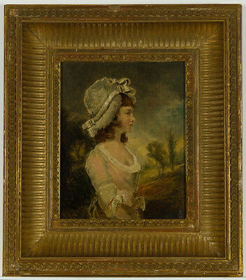 Fine British School Early 19th Century Oil - Portrait of a Woman