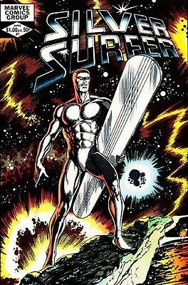 Silver Surfer (1982 One Shot) #   1 (FN+) (Fne Plus+) Marvel Comics ORIG US