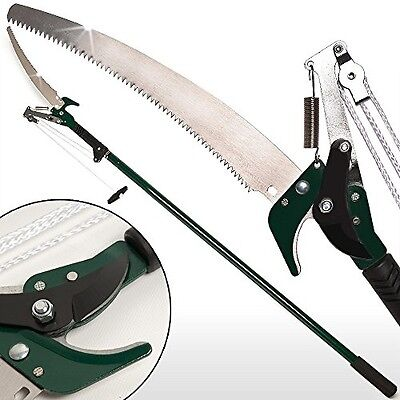 Telescopic Pruning Saw DIY Tree Saw Adjustable Extendable Branch Saw Tree - 4m