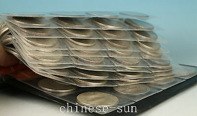 80 pices iron   plating silver Qing Dynasty Coins Money Statue Chinese Ackey art