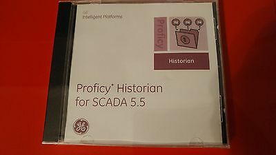 New Sealed Ge Fanuc Proficy Historian Scada  Desktop 5.5 Software