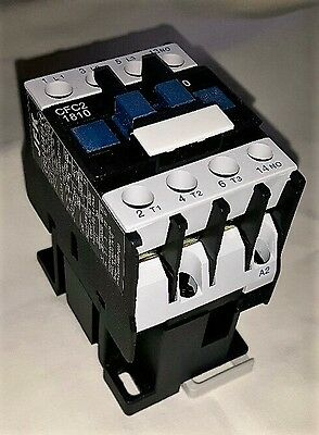 ac contactor 18 amp 7.5kw 3 pole  240 volt coil with 1 N/O  auxiliary New!!!!