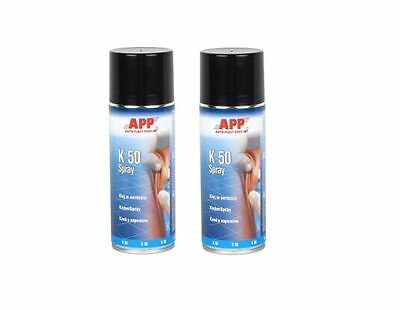 2x Adhesive spray for Faux leather Mat Universal adhesive (16,13€/Litre)
