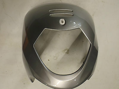 Sym euro mx 125 front cowl in silver
