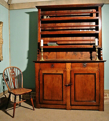 Exemplary 18th Century Joined Fruitwood Dresser c. 1770