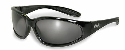 Unbreakable wraparound motorcycle sunglasses / biker glasses plus free Pouch