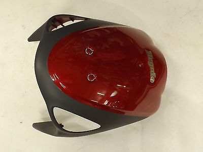 sym megalo front cowl in red